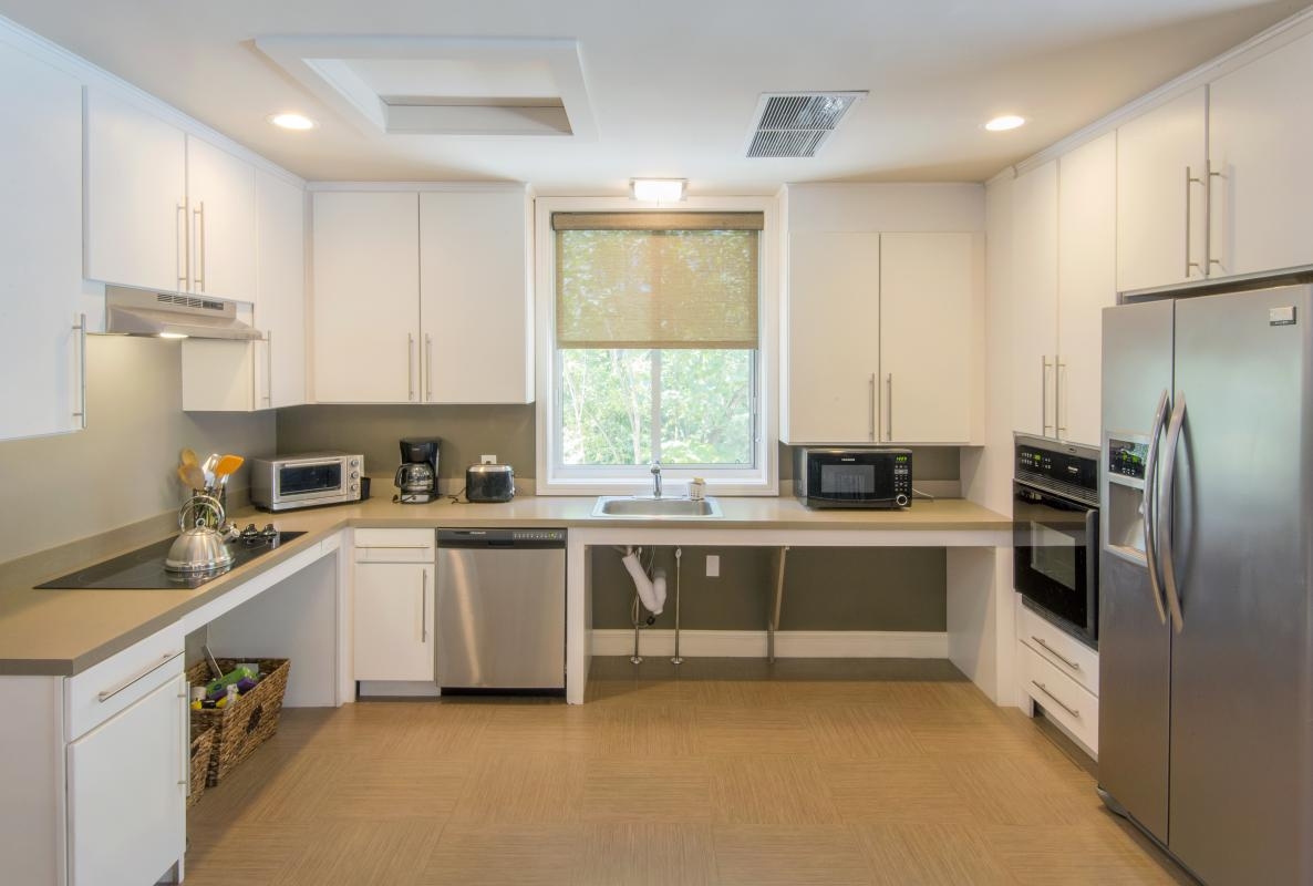 Accessible kitchen in community room