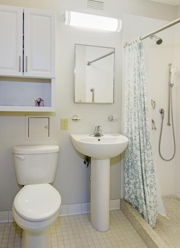 Accessible unit bathroom