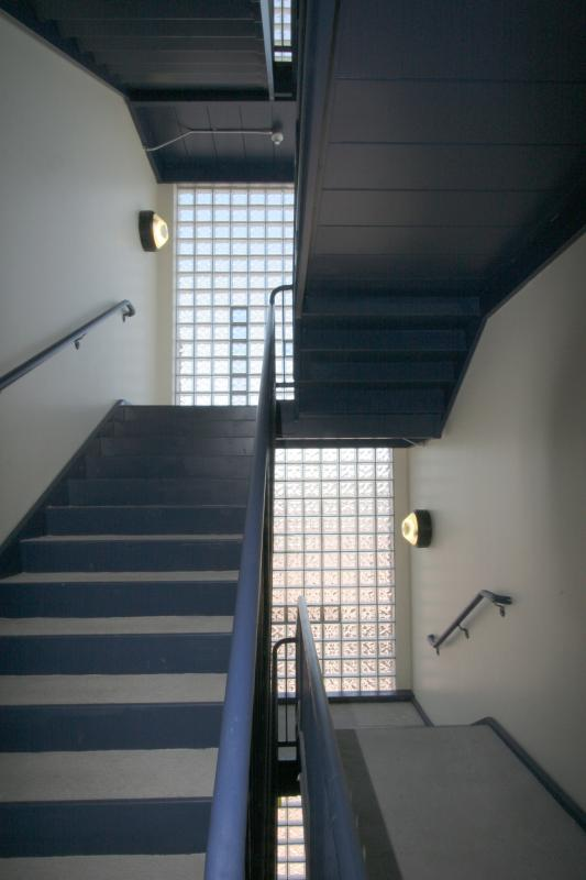 Interior stairwell detail
