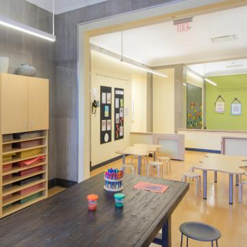 Interior view - childcare area