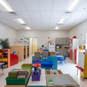 Childcare classroom